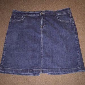 Old Navy denim pencil skirt size 16R